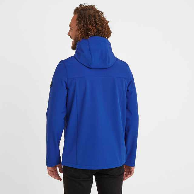 Feizor Mens Softshell Hooded Jacket - Royal image 2