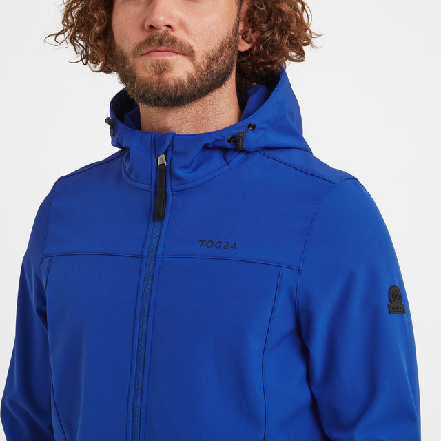Feizor Mens Softshell Hooded Jacket - Royal image 5
