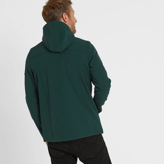 Feizor Mens Softshell Hooded Jacket - Forest image 2