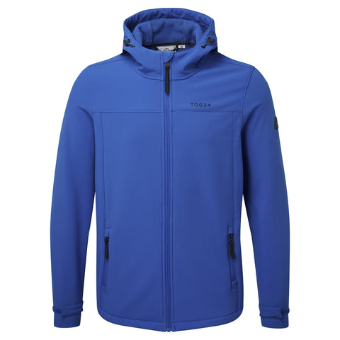 Feizor Mens Softshell Hooded Jacket - Classic Blue