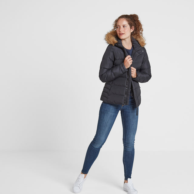 Fernsby Womens Insulated Jacket - Black image 3