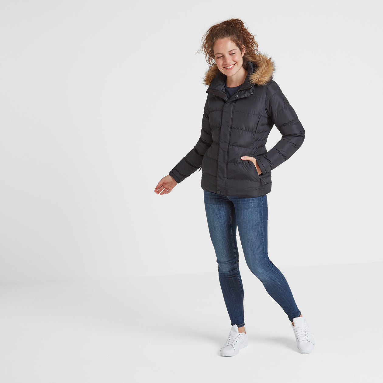 Fernsby Womens Insulated Jacket - Black image 4