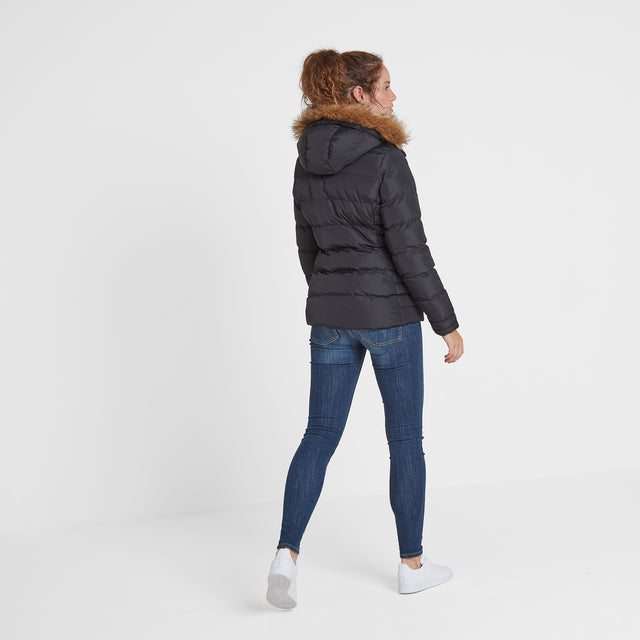 Fernsby Womens Insulated Jacket - Black image 5