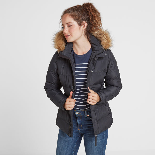 Fernsby Womens Insulated Jacket - Black image 2