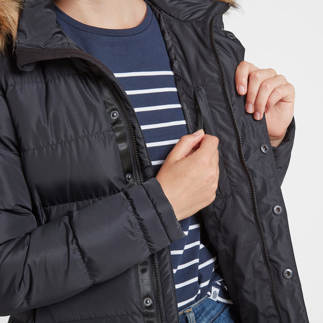 Fernsby Womens Insulated Jacket - Black image 6