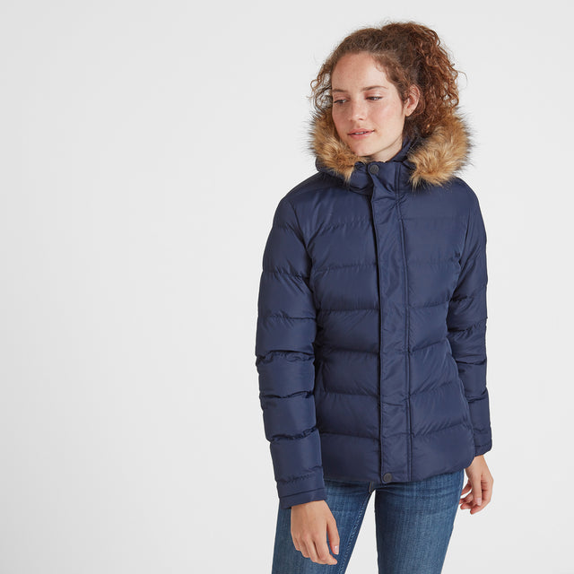 Fernsby Womens Insulated Jacket - Navy image 2