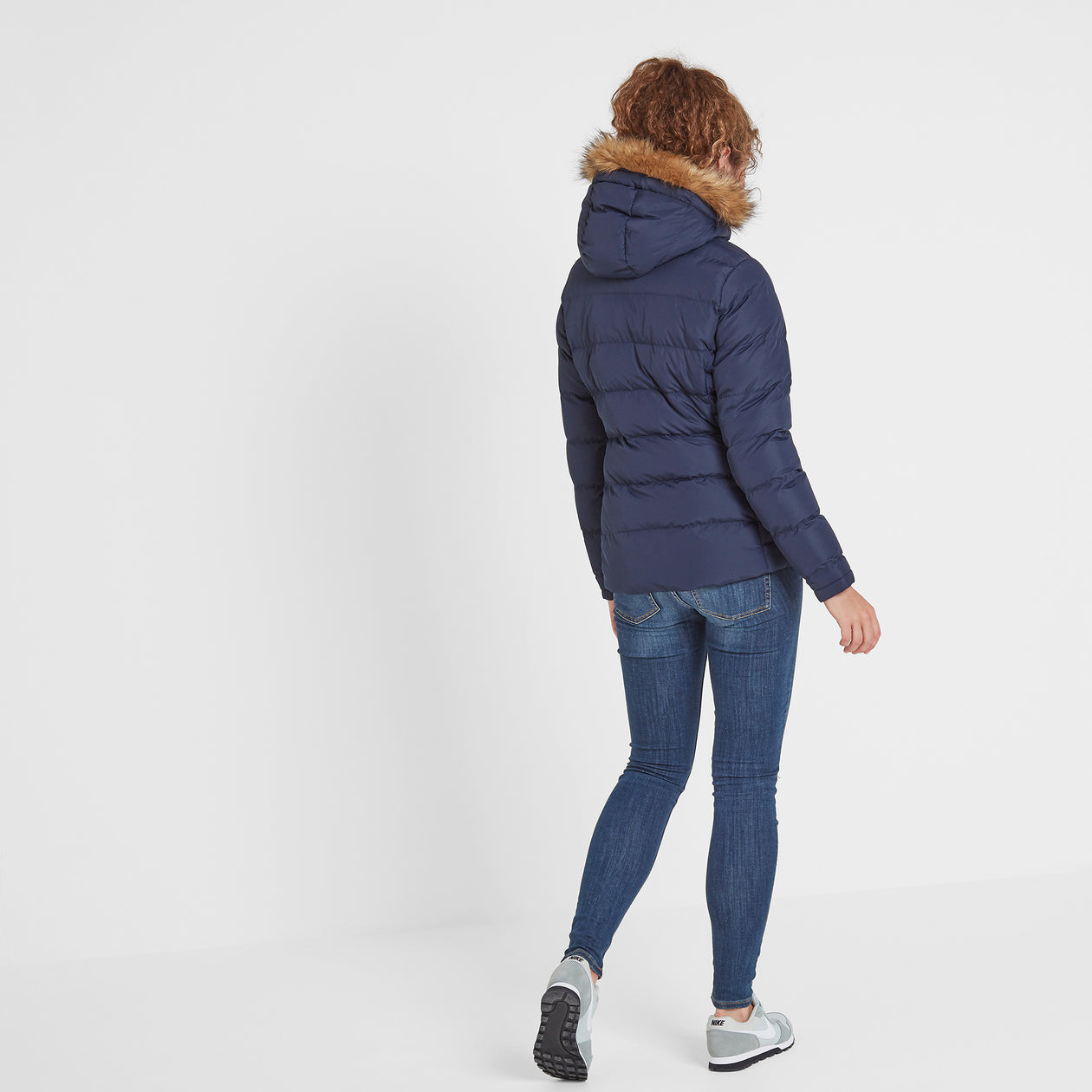 Fernsby Womens Insulated Jacket - Navy image 4