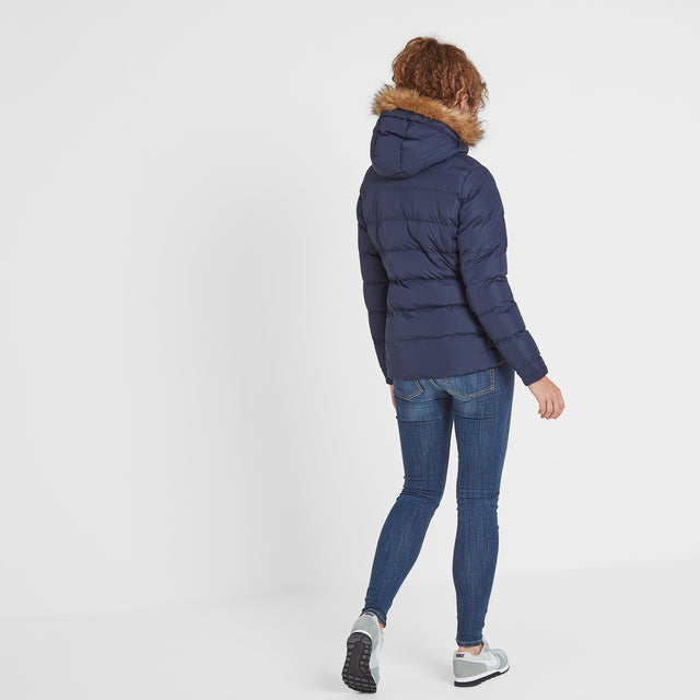 Fernsby Womens Insulated Jacket - Navy image 3