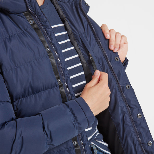 Fernsby Womens Insulated Jacket - Navy image 5