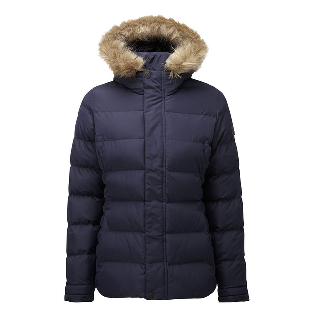 Fernsby Womens Insulated Jacket - Navy image 6