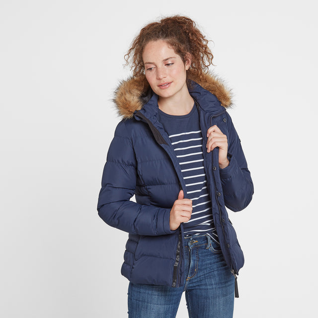 Fernsby Womens Insulated Jacket - Navy image 1