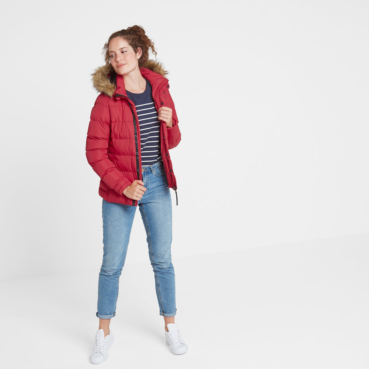Fernsby Womens Insulated Jacket - Rouge Red image 4