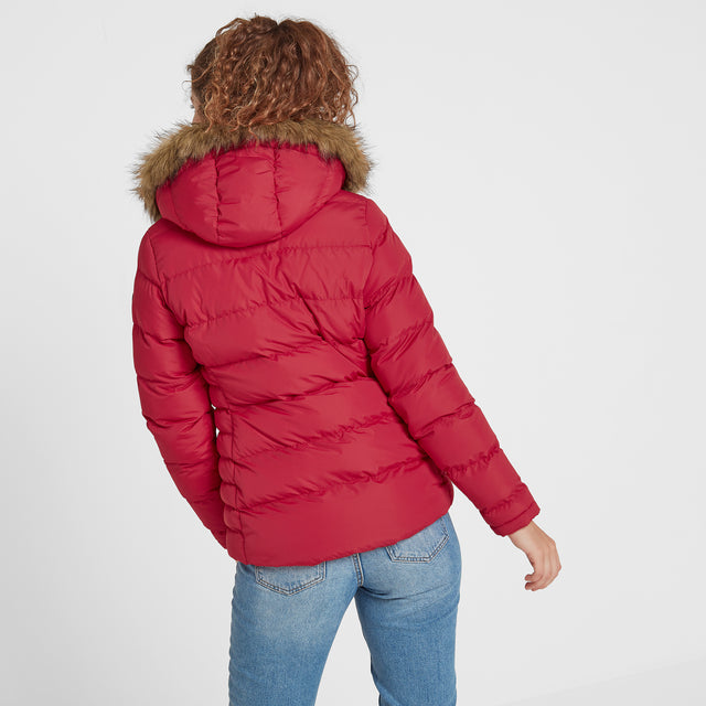 Fernsby Womens Insulated Jacket - Rouge Red image 3