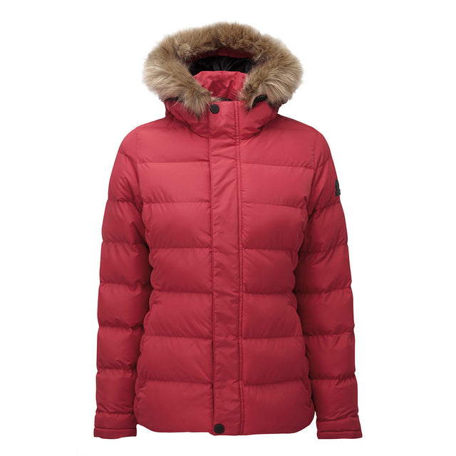 Fernsby Womens Insulated Jacket - Rouge Red image 6