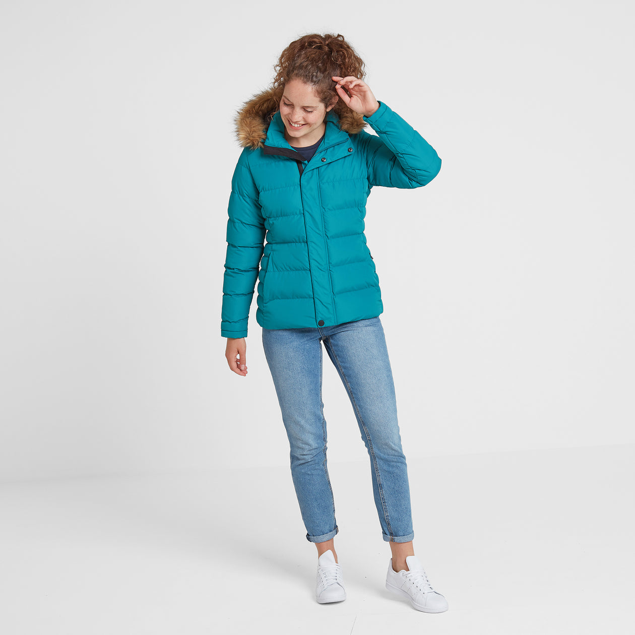 Fernsby Womens Insulated Jacket - Topaz image 4