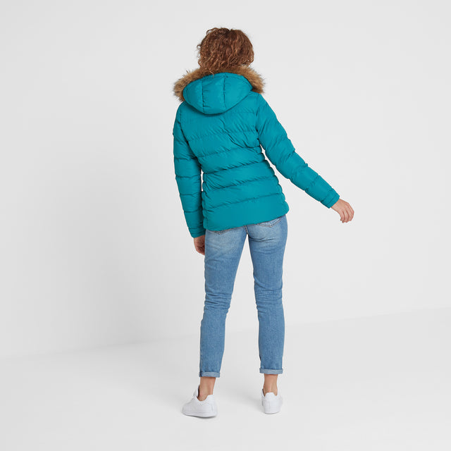 Fernsby Womens Insulated Jacket - Topaz image 3