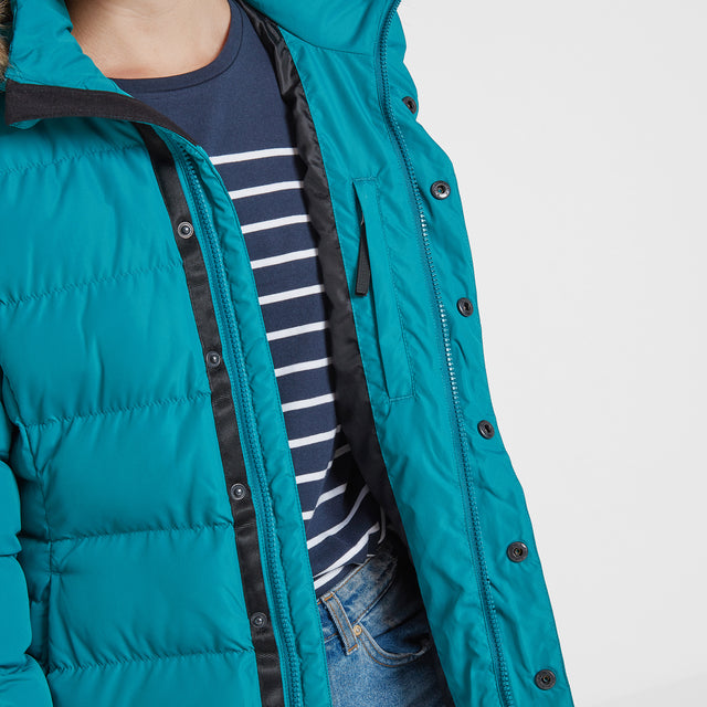 Fernsby Womens Insulated Jacket - Topaz image 5