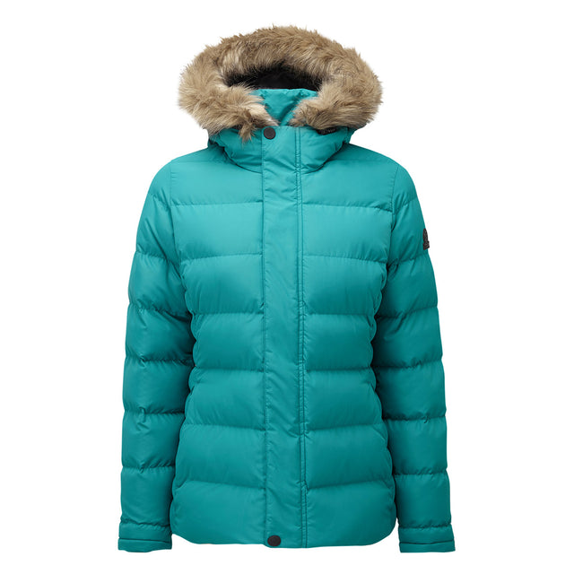 Fernsby Womens Insulated Jacket - Topaz image 6