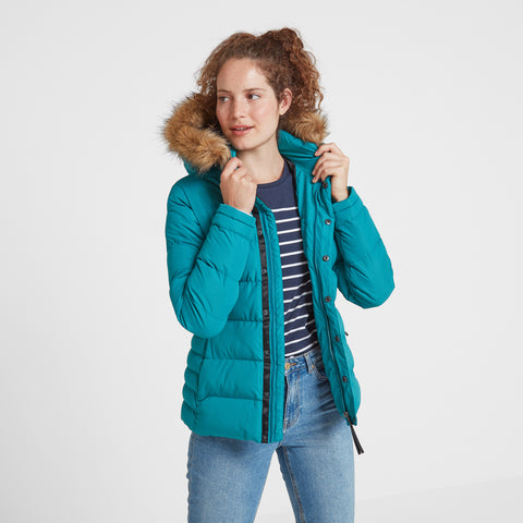 Fernsby Womens Insulated Jacket - Topaz
