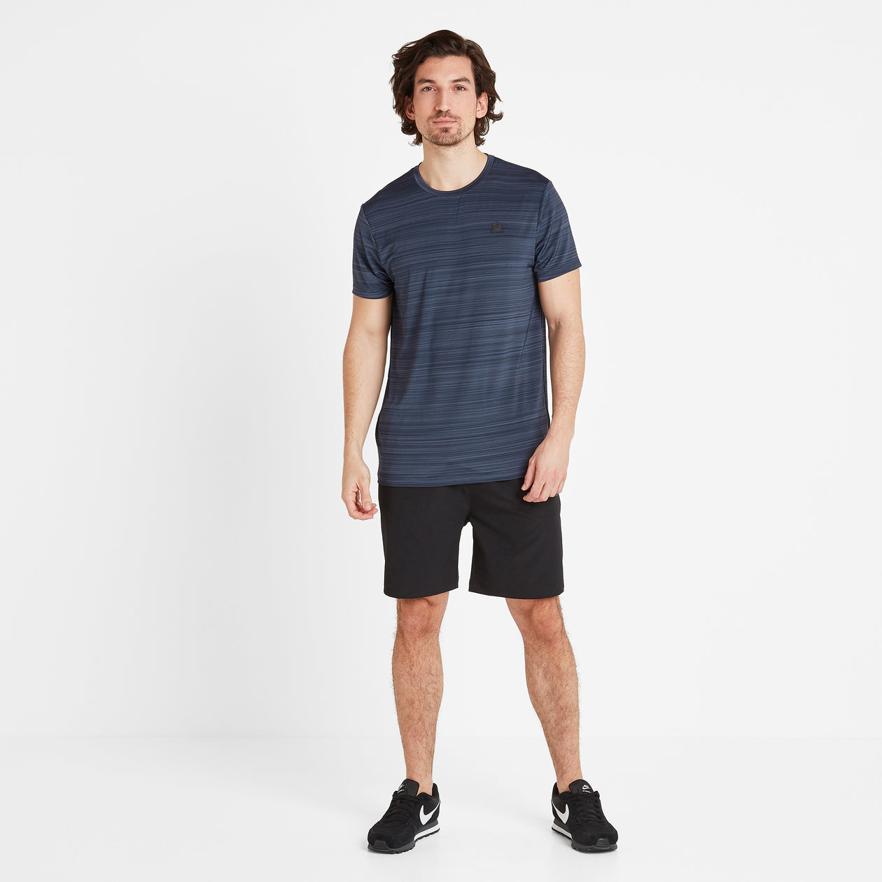 Gawber Mens Tech T-Shirt - Dark Indigo image 4