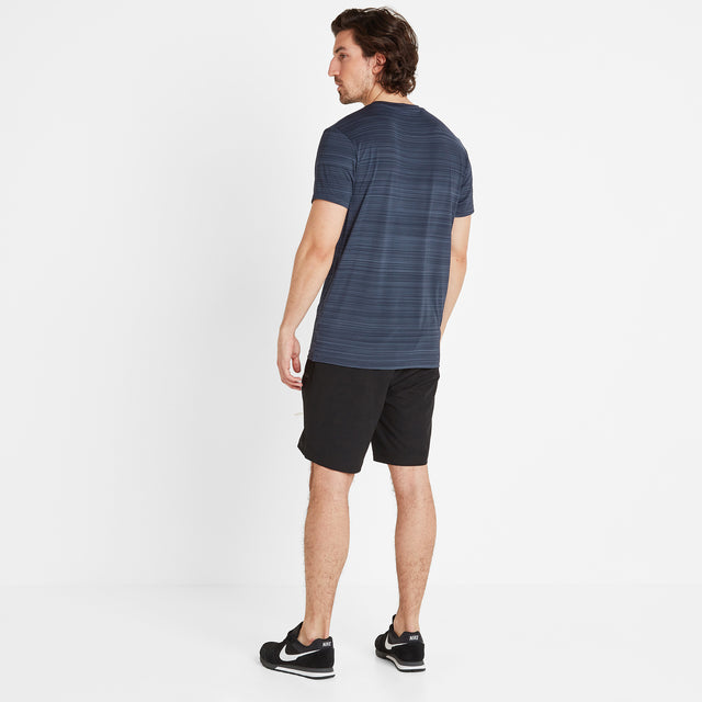 Gawber Mens Tech T-Shirt - Dark Indigo image 2