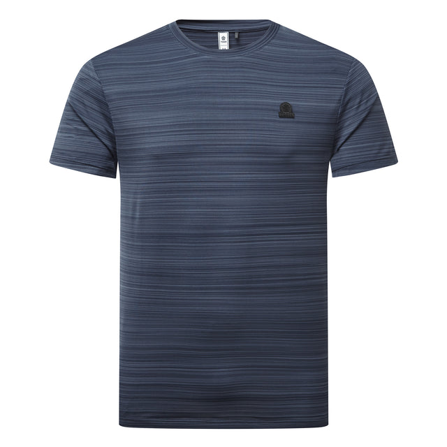 Gawber Mens Tech T-Shirt - Dark Indigo image 3
