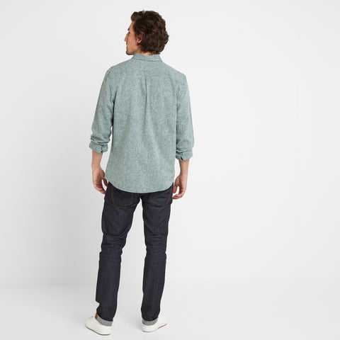 Granville Mens Long Sleeve Shirt - Forest