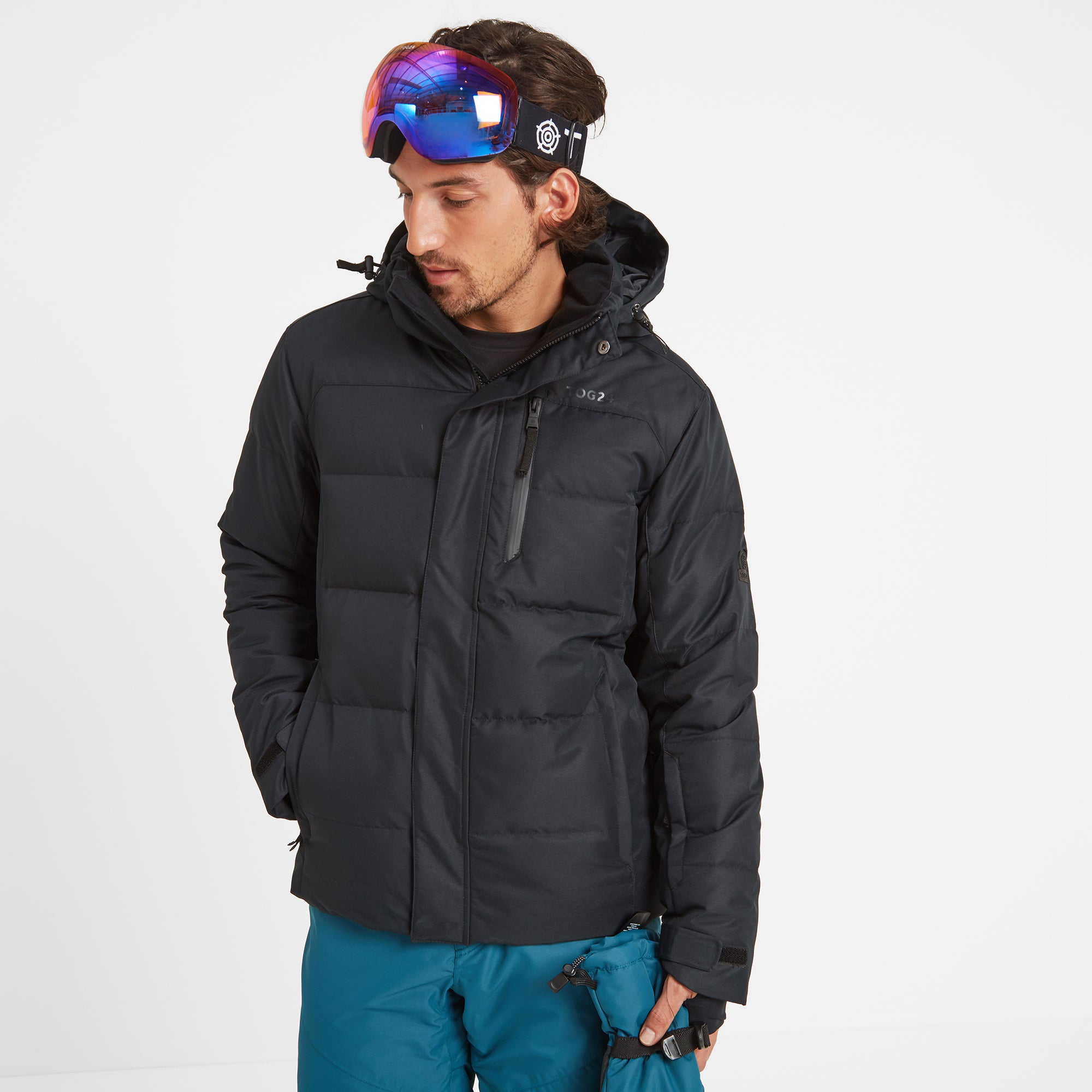 Gunby Mens Down Filled Ski Jacket - Black