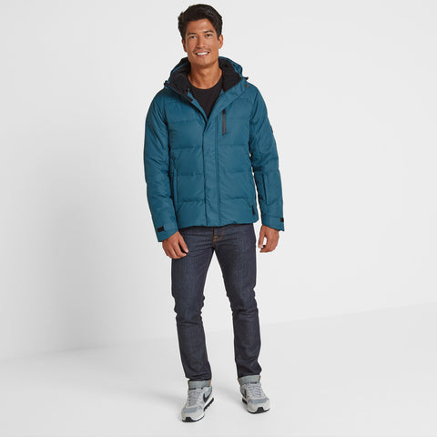 Gunby Mens Winter Jacket - Lagoon