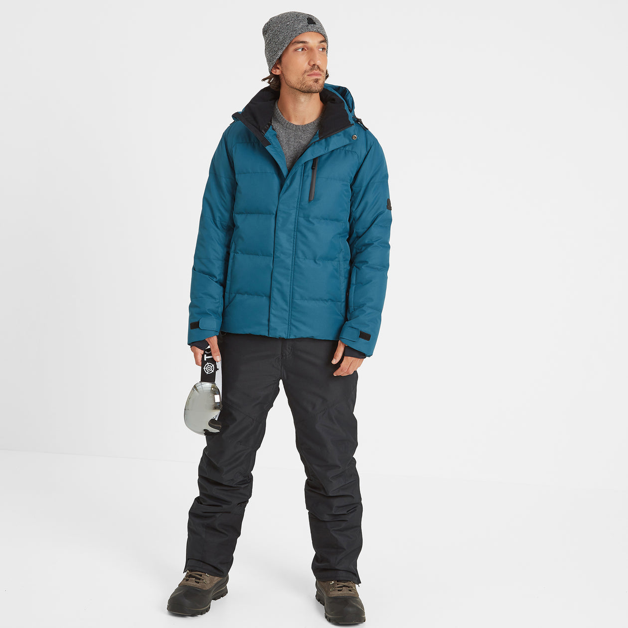 Gunby Mens Down Filled Ski Jacket - Lagoon image 4