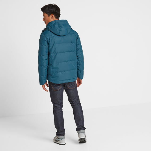 Gunby Mens Winter Jacket - Lagoon image 2