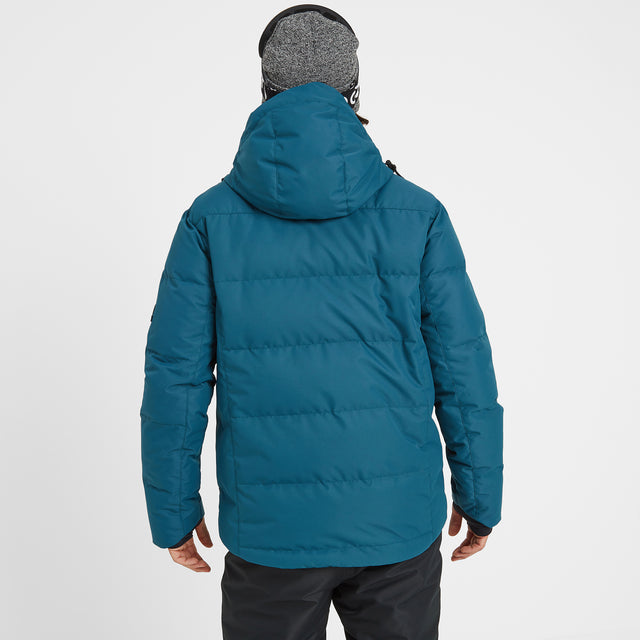 Gunby Mens Down Filled Ski Jacket - Lagoon image 3
