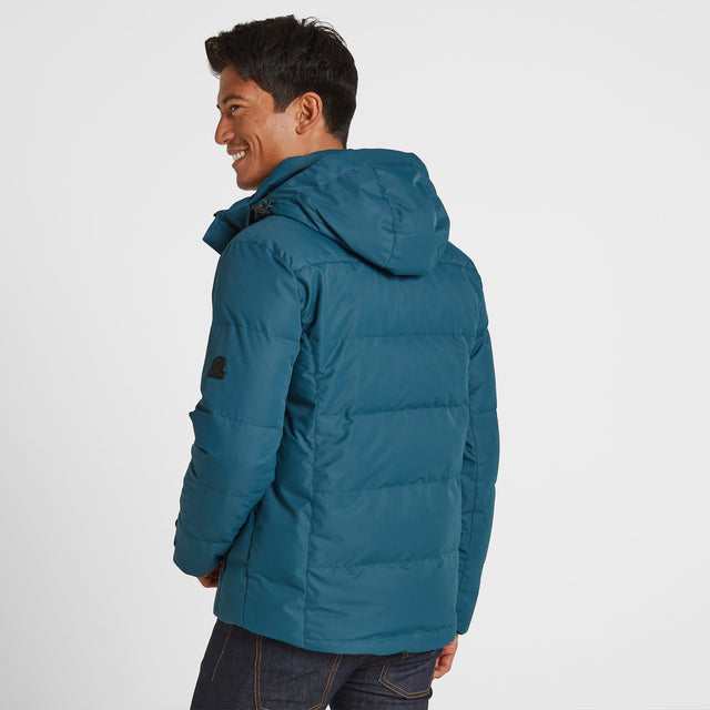 Gunby Mens Winter Jacket - Lagoon image 3