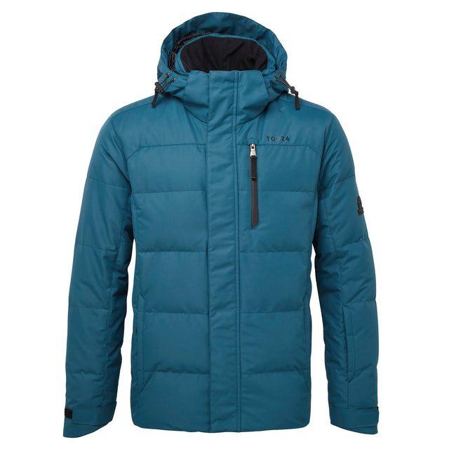 Gunby Mens Down Filled Ski Jacket - Lagoon image 5