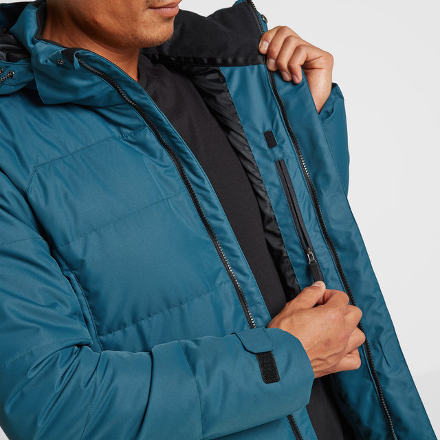 Gunby Mens Winter Jacket - Lagoon image 5