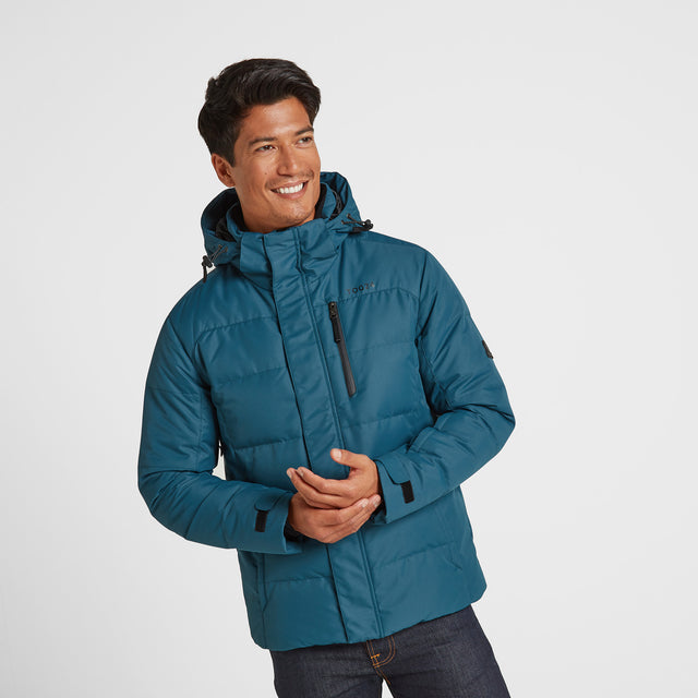 Gunby Mens Winter Jacket - Lagoon image 1
