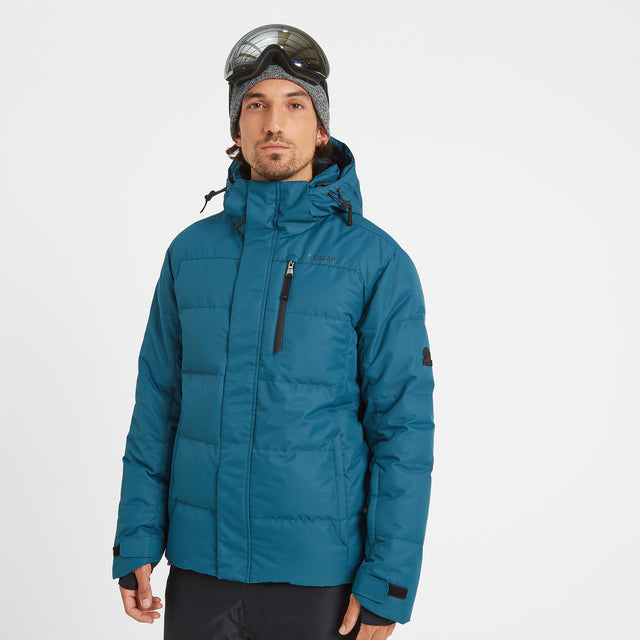 Gunby Mens Down Filled Ski Jacket - Lagoon image 1