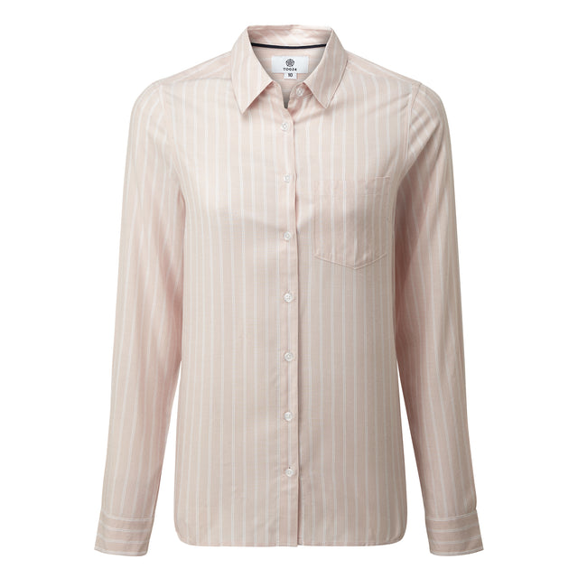 Harlow Womens Long Sleeve Shirt - Rose Pink image 3