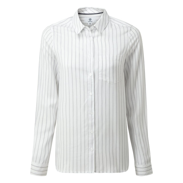 Harlow Womens Long Sleeve Shirt - White image 3