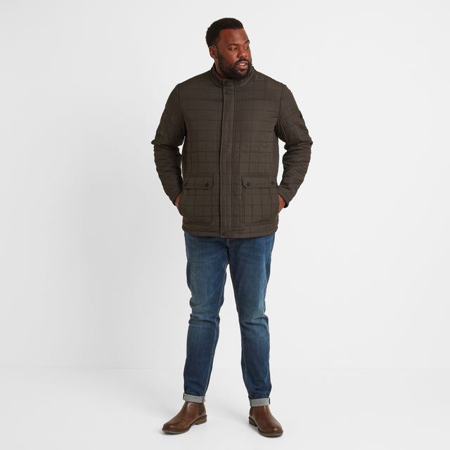 Harman Mens Jacket - Dark Khaki image 9