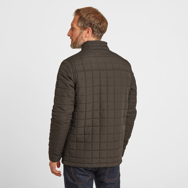 Harman Mens Jacket - Dark Khaki image 3