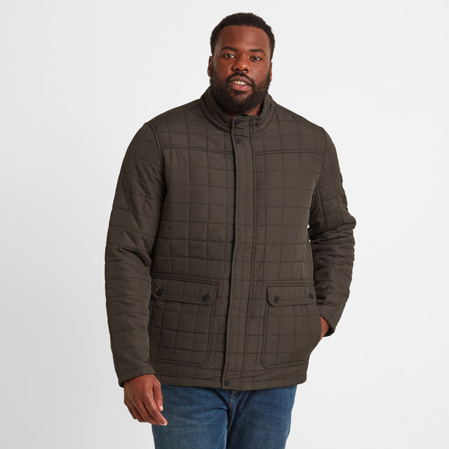 Harman Mens Jacket - Dark Khaki image 6