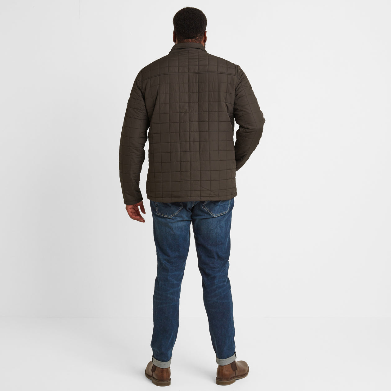 Harman Mens Jacket - Dark Khaki image 8