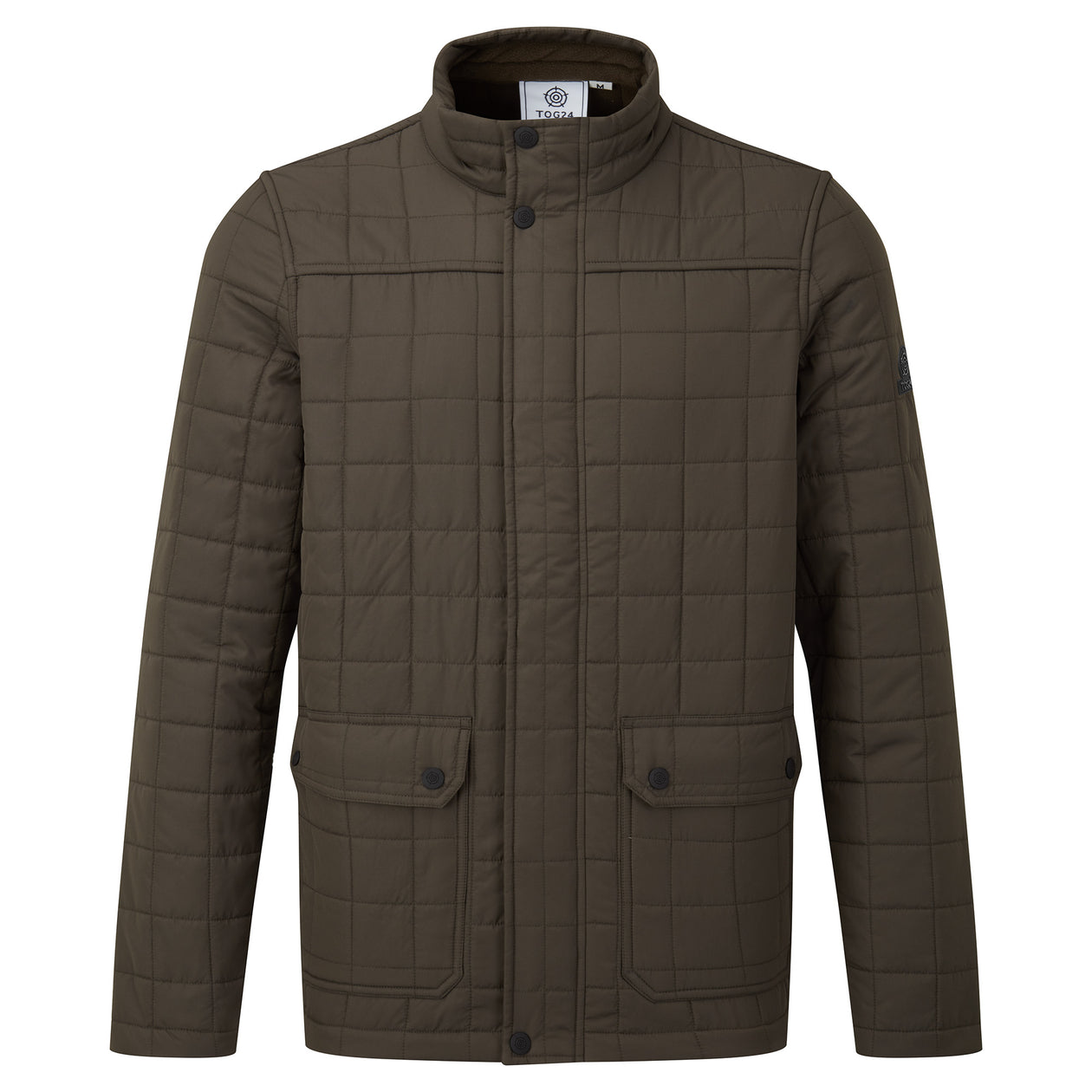 Harman Mens Jacket - Dark Khaki image 4