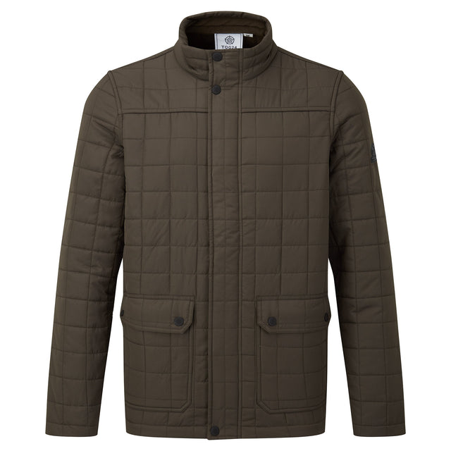Harman Mens Jacket - Dark Khaki image 7