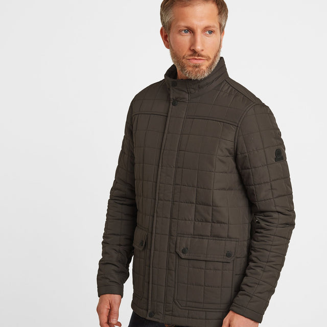 Harman Mens Jacket - Dark Khaki image 1