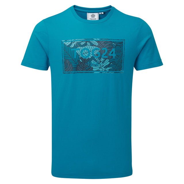 Heaton Mens Tog24 Graphic T-Shirt - Caribbean Blue image 3