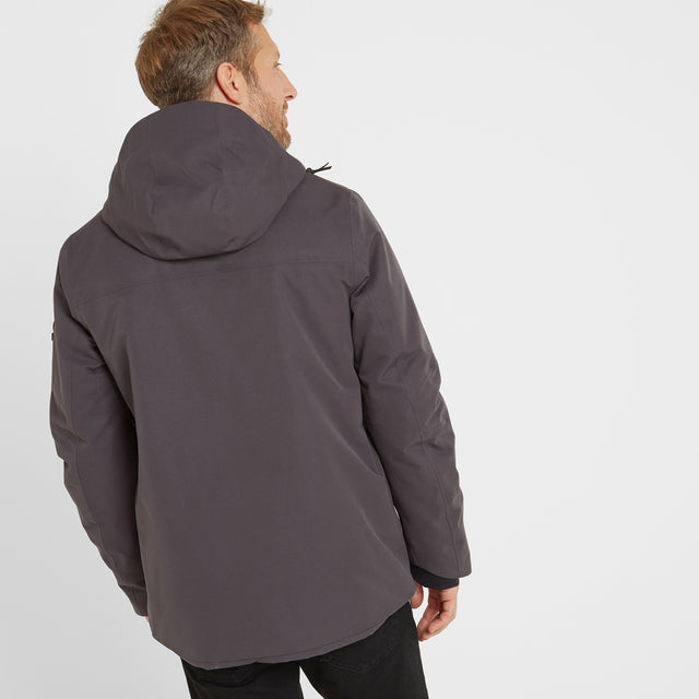 Helmsley Mens Winter Jacket - Coal Grey image 2