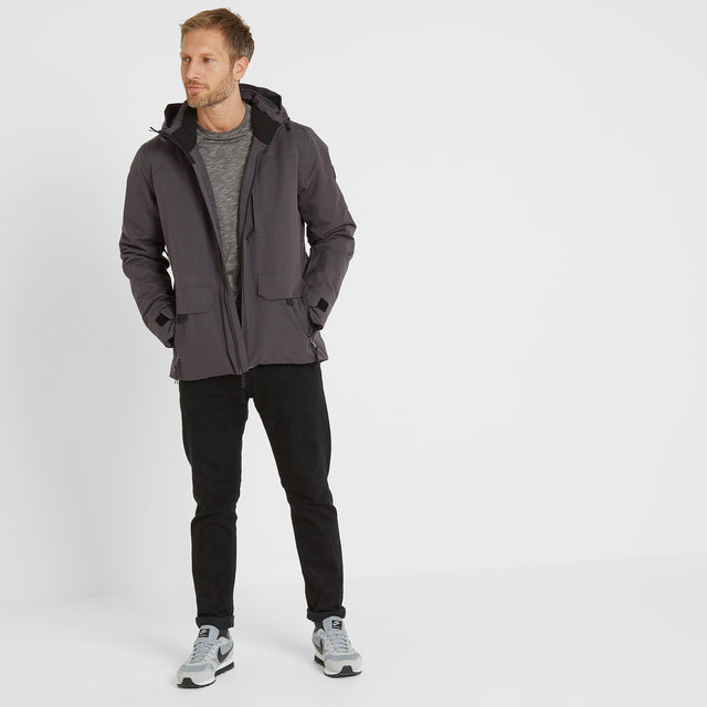 Helmsley Mens Winter Jacket - Coal Grey image 1