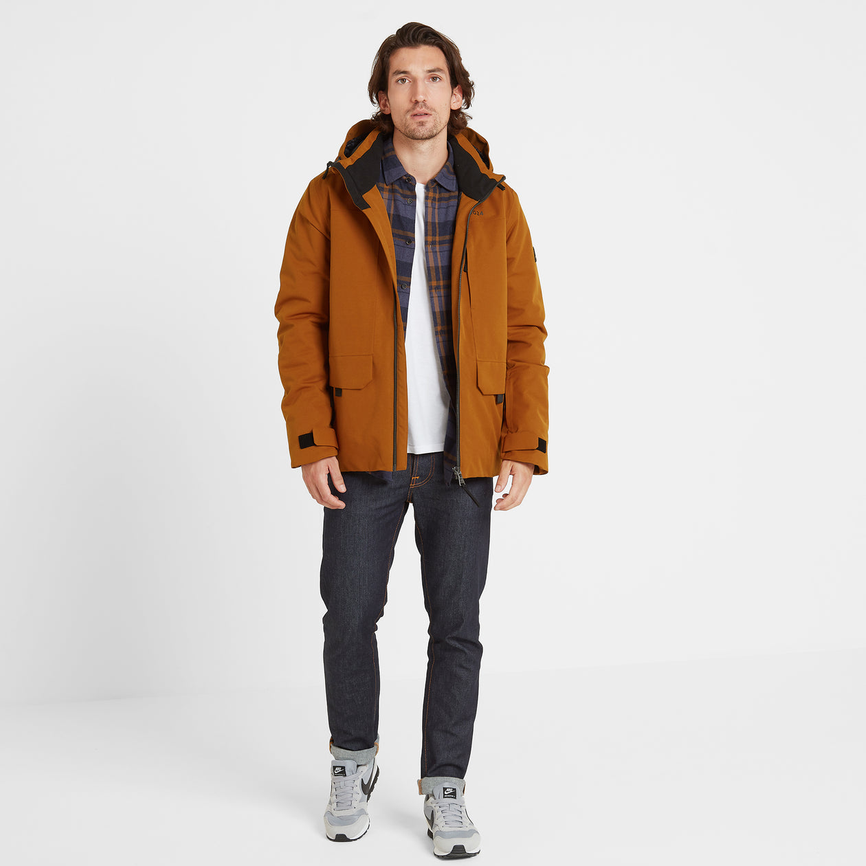 Helmsley Mens Winter Jacket - Amber image 4